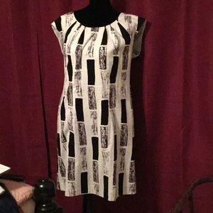 Black and white Chico's dress sz 2.5 -L14